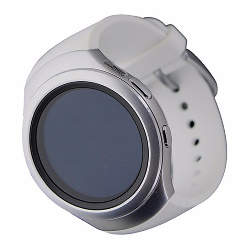 Samsung Gear S2 Smartwatch (SM-R720) - Large Band - Silver / White
