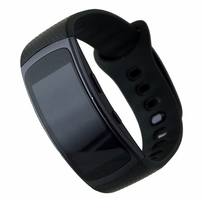 Samsung Gear Fit2 SM-R360 GPS Fitness Tracker - Black Large Sports Band