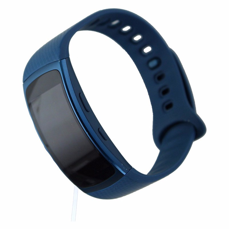 Samsung Gear Fit2 SM-R360 GPS Fitness Tracker - Blue Large Sports Band