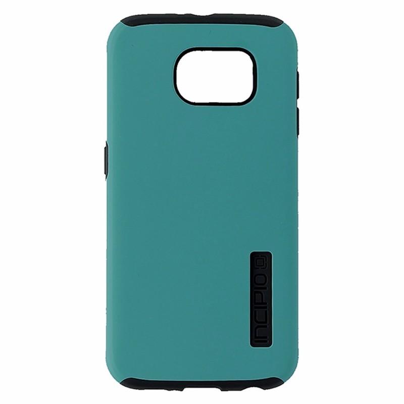 Incipio DualPro Case for Samsung Galaxy S6 - Neon Blue/Charcoal Gray