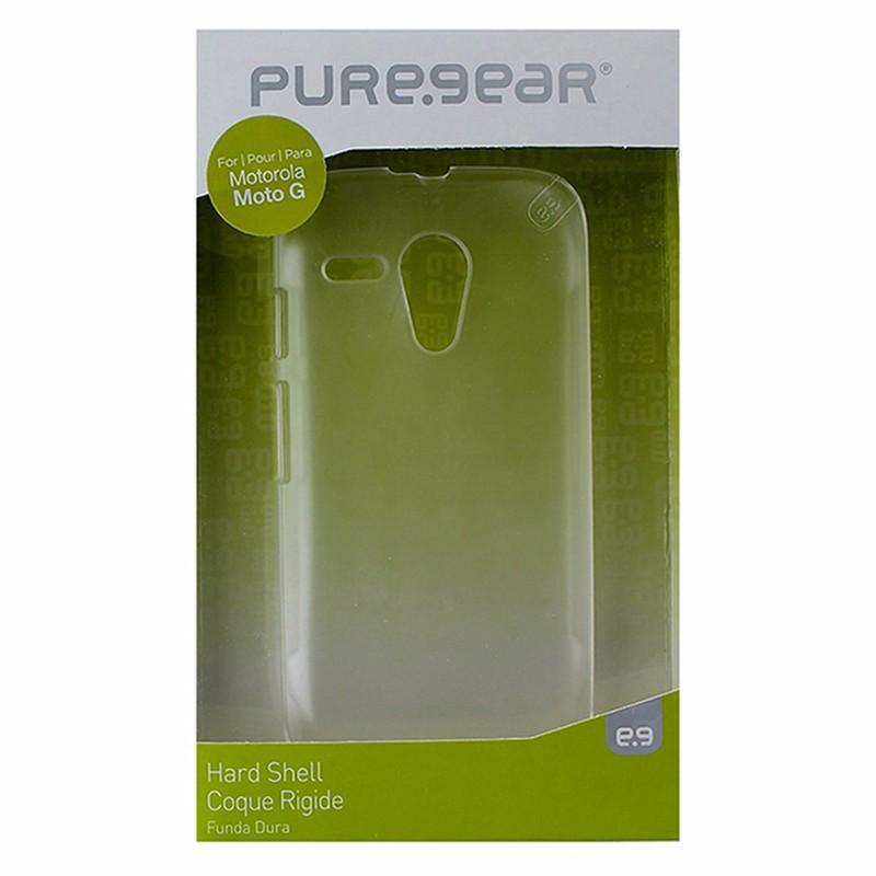 PureGear Hard Shell Case for Motorola Moto G - Frost / Clear