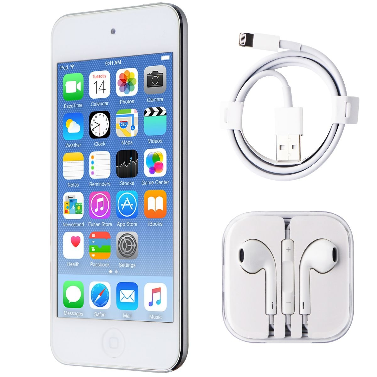 Apple iPod Touch (5th Generation) A1421 (MD720LL/A) Wi-Fi - 32GB White/Silver