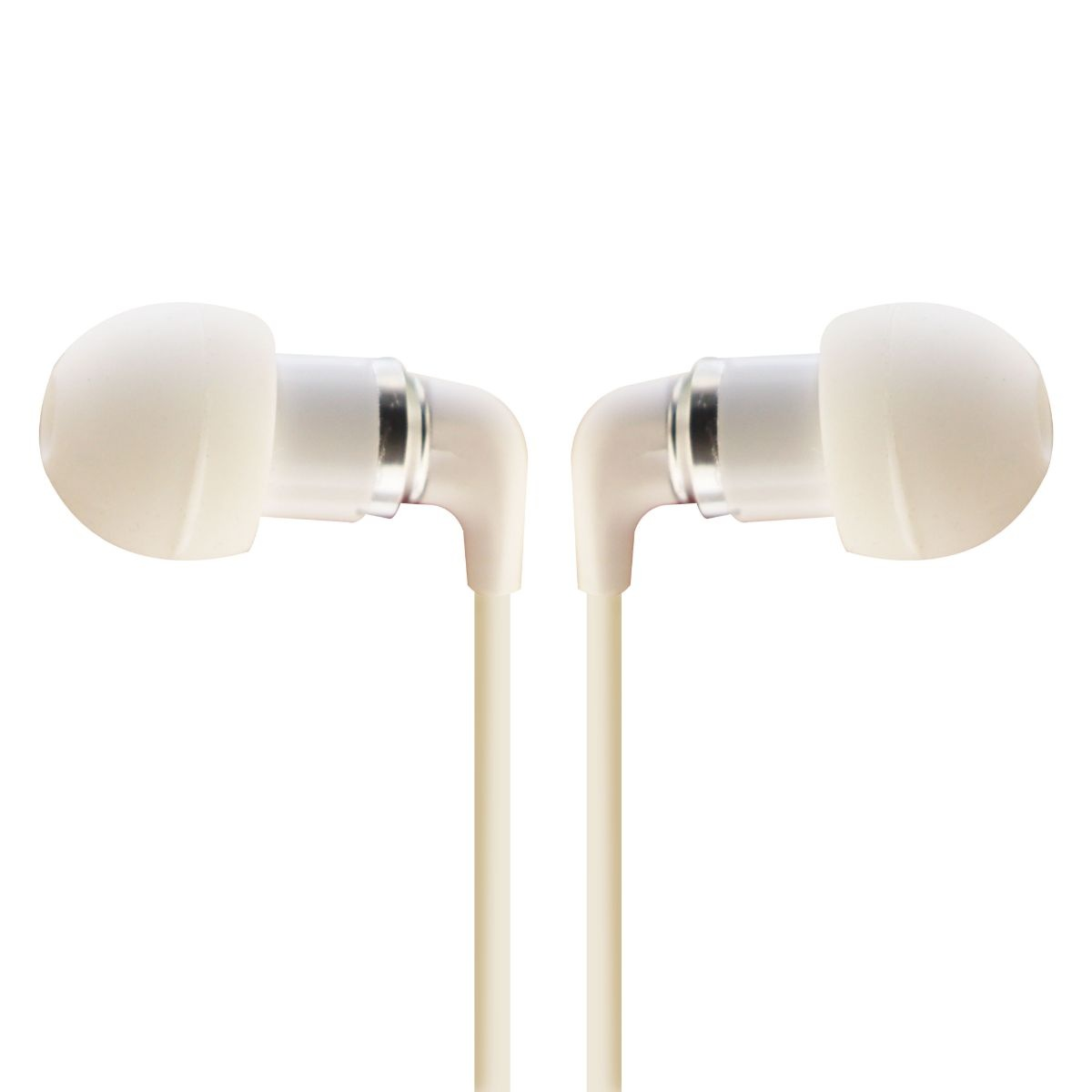 Sentry Ultra Pro Earbuds with Mic and Deluxe Case - White - H7002
