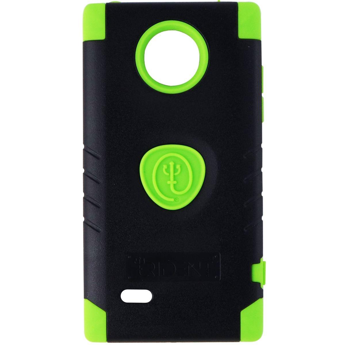 Trident Aegis Series Dual Layer Case for LG Spectrum 2 - Black/Green