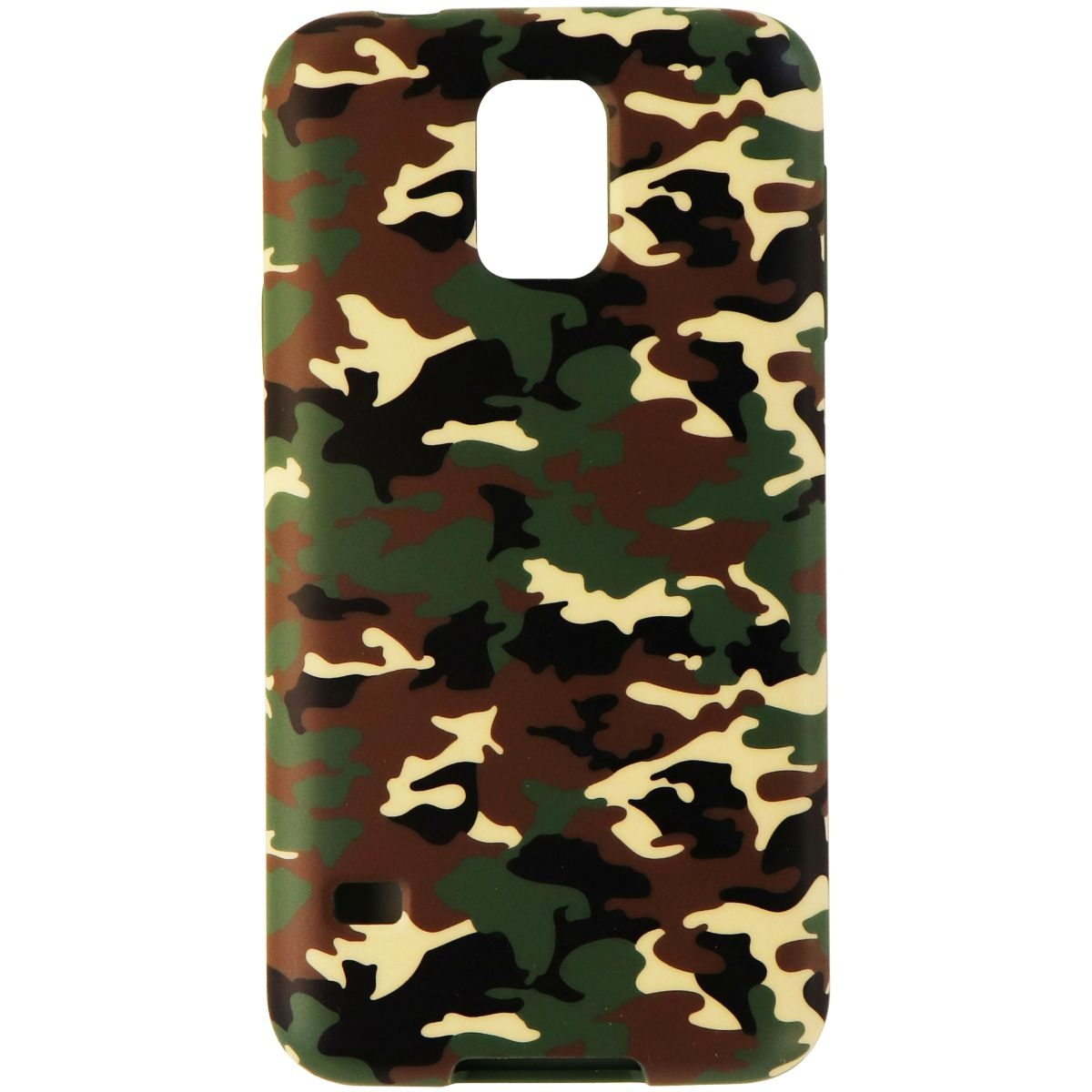 Agent18 Flexshield Case for Samsung Galaxy S5 Smartphone - Green Camo