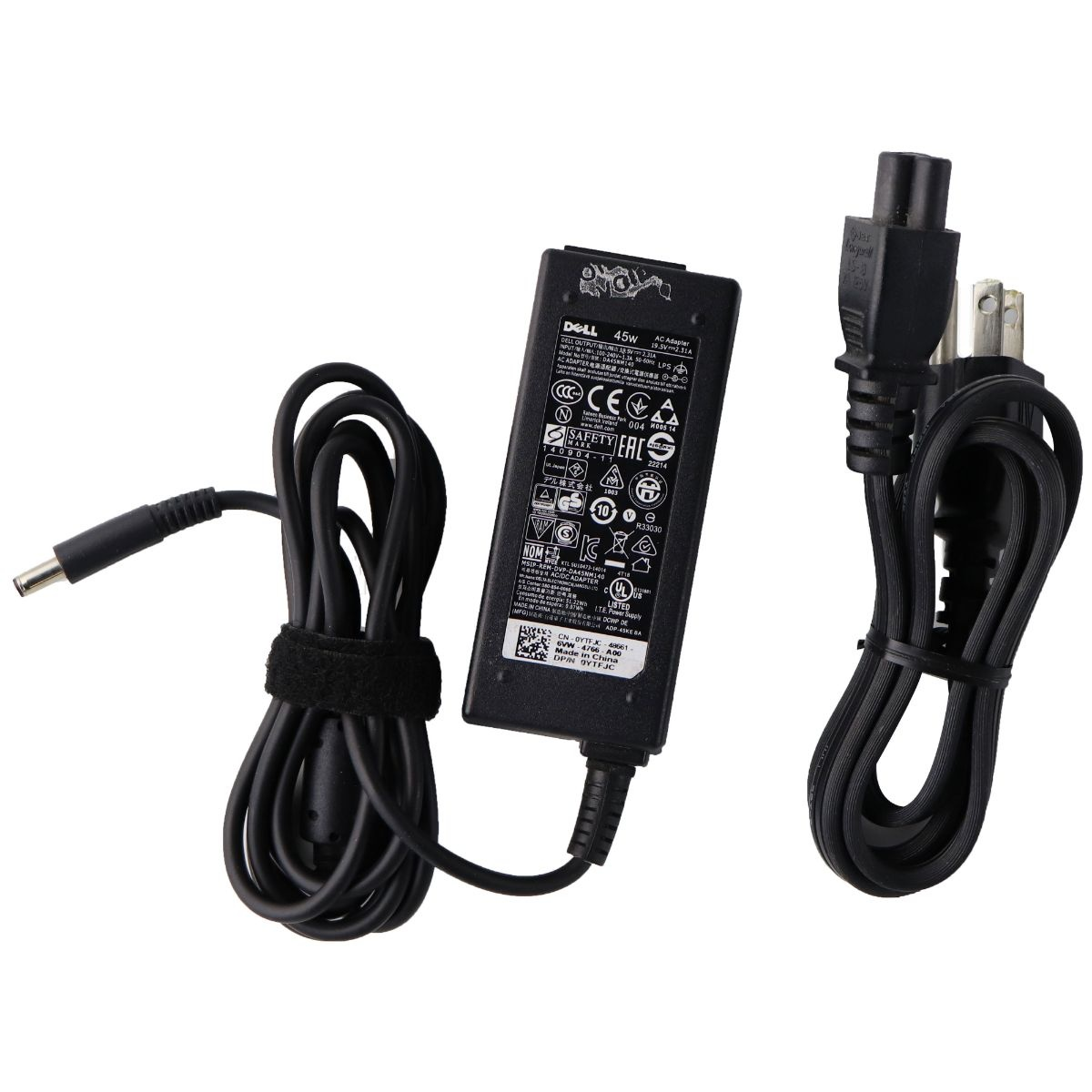 Dell AC Adapter OEM Laptop Charger Power Supply (DA45NM140