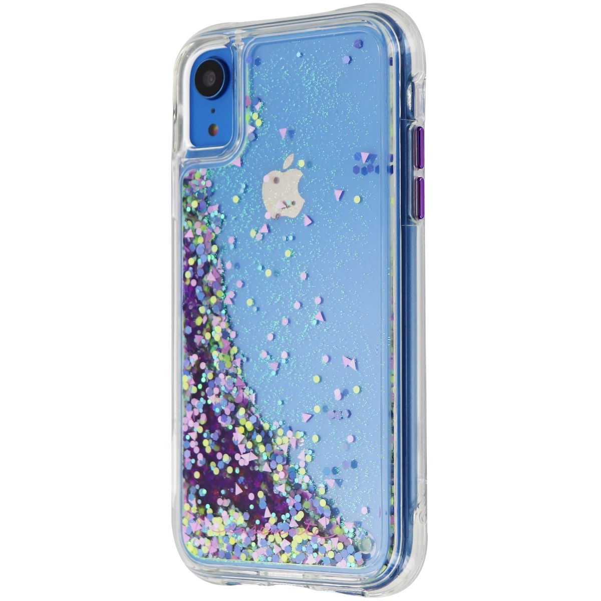 Case-Mate Waterfall Glow Series Case for Apple iPhone XR - Clear / Purple Glow