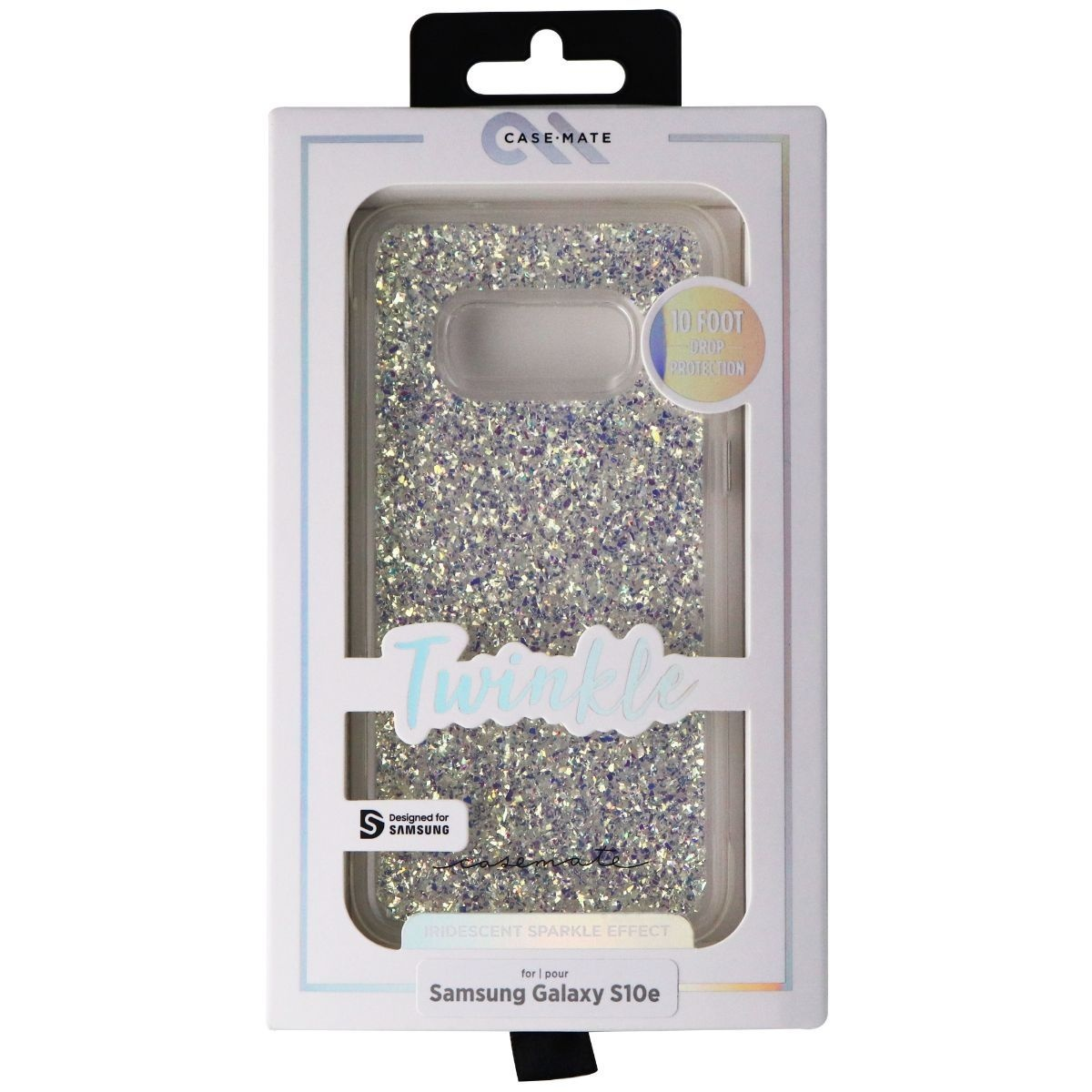 Case-Mate Twinkle Case for Samsung Galaxy S10e - Stardust (Clear/Iridescent)