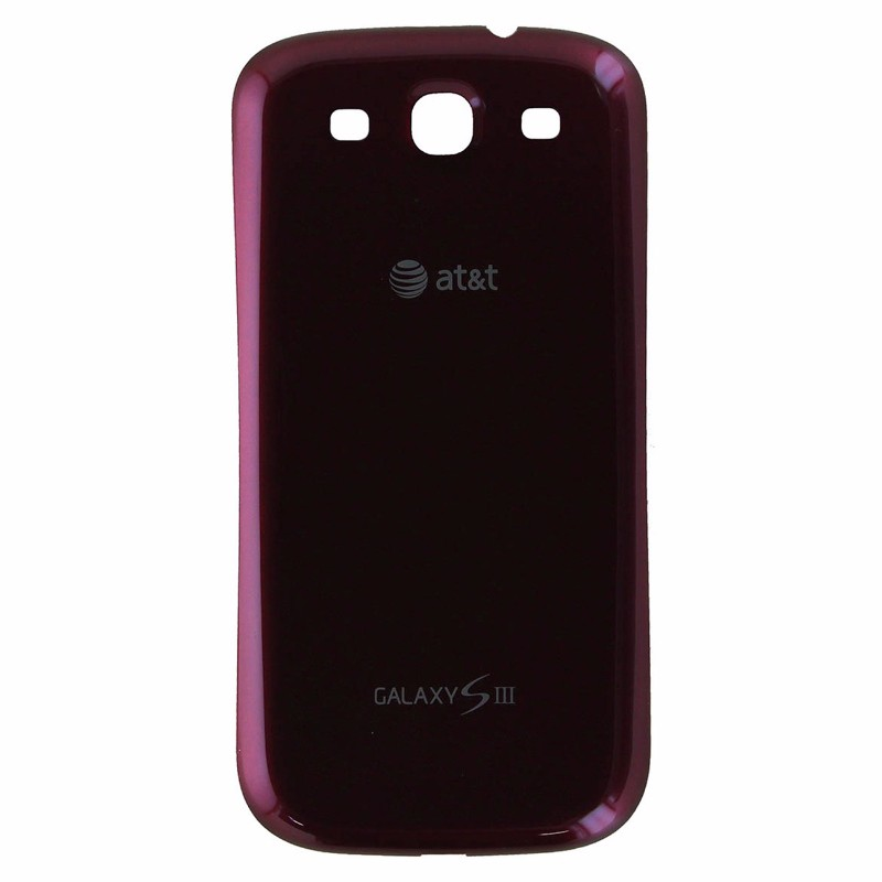 Battery Door Back Cover for Samsung AT&TGalaxy S III (S3) i747 - Red