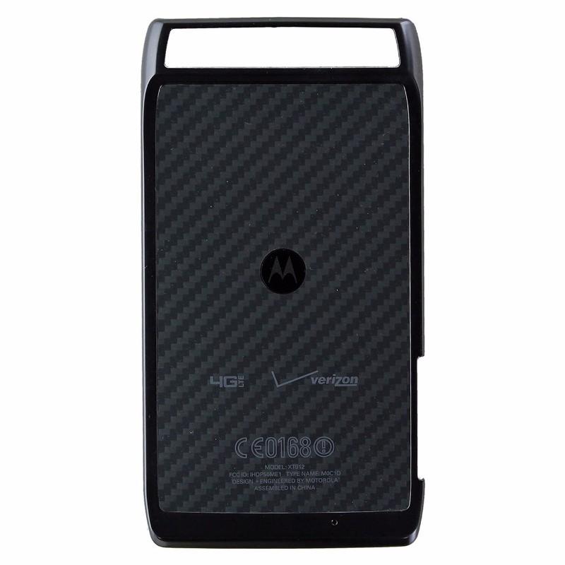 Battery Door for Motorola Droid Razr XT912 - Black/Carbon
