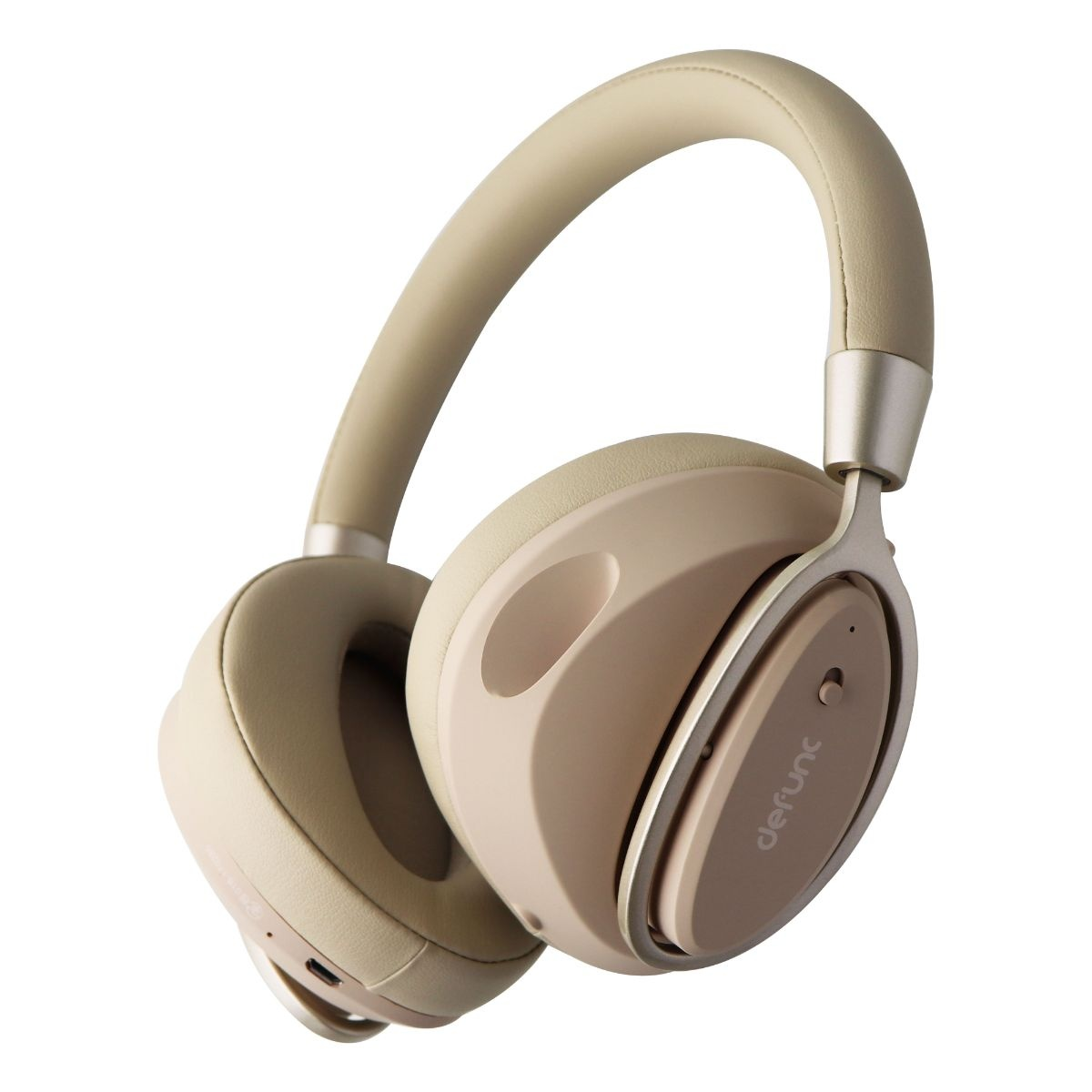 Defunc MUTE Wireless Over-Ear Headphones with Active Noise Cancellation - Gold