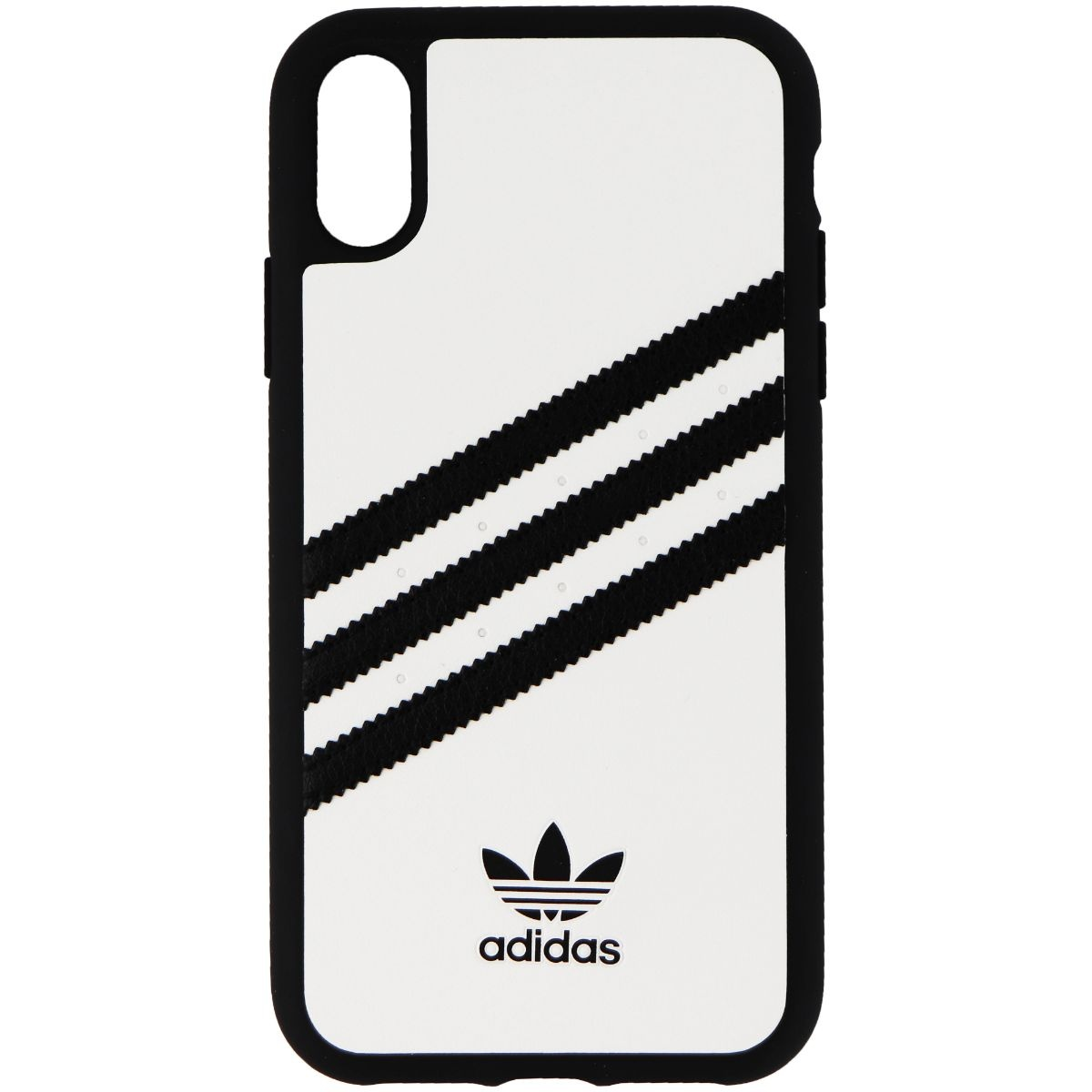 Adidas Originals Samba Snap Case for iPhone XR - White w/ Black Stripes