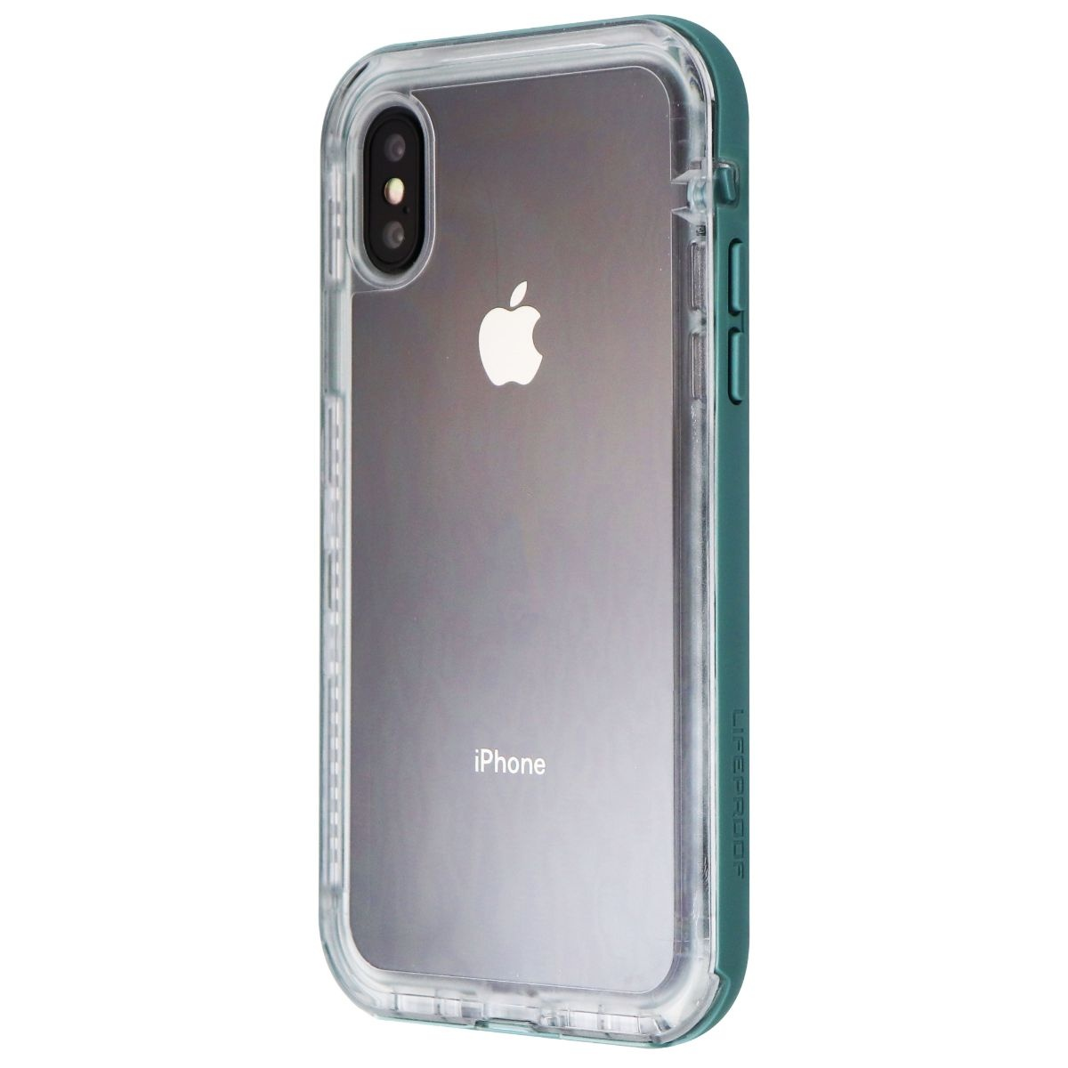 LifeProof Next Series Case for iPhone X (ONLY) - Seaside Blue / Clear