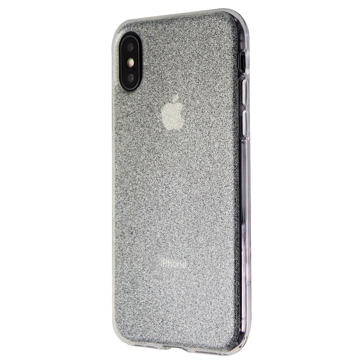 Incipio Design Series Case for Apple iPhone XS / X - Iridescent White Glitter