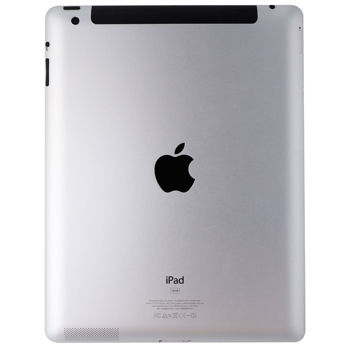 Apple iPad 9.7-inch (3rd Generation) Tablet A1430 (AT&T Locked) - 16GB / White
