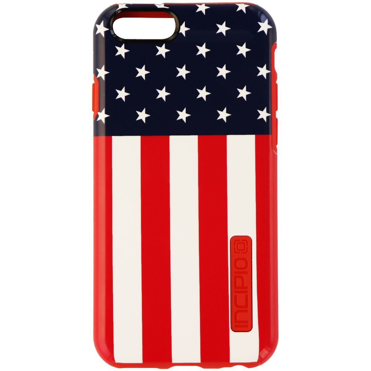 Incipio DualPro Series Dual Layer Case for iPhone 6s 6 - USA Flag/Red