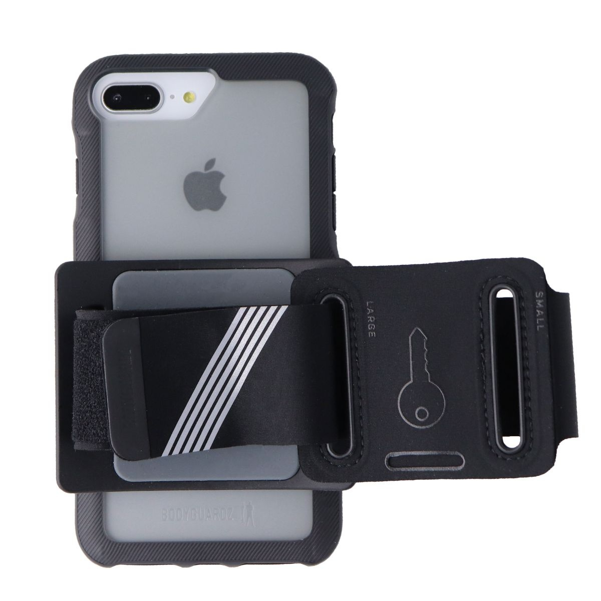 BodyGuardz Trainr Pro Case and Armband for Apple iPhone 7 Plus - Frosted / Blk
