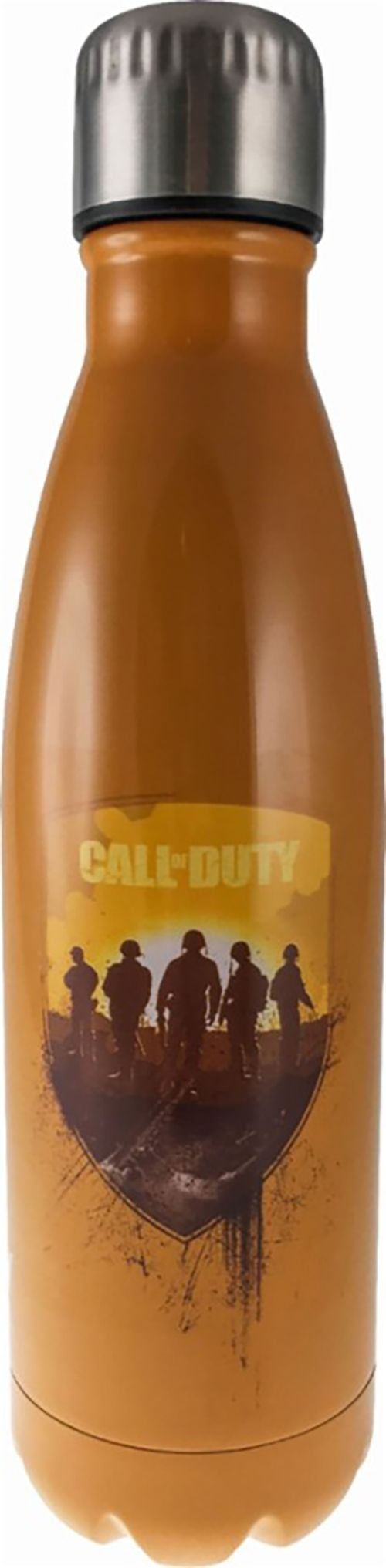 Surreal Entertainment Call of Duty 17Oz Steel Thermo Flask Water Bottle - Orange