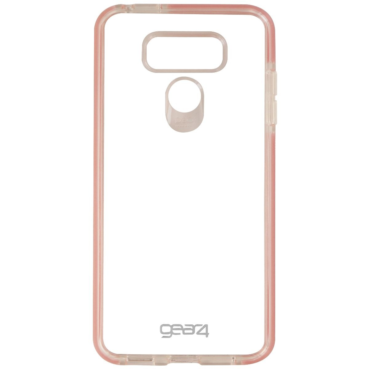 Gear4 Piccadilly Series Hybrid Hardshell Slim Case for LG G6 - Clear / Pink