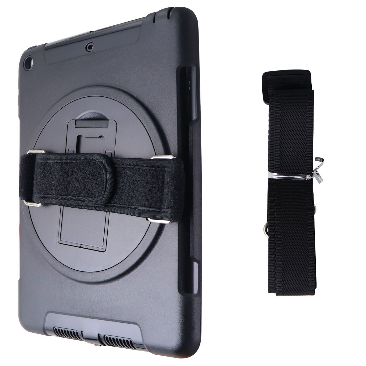 Verizon Rugged Strap Case for Apple iPad (9.7) 5th and 6th Generation - Black