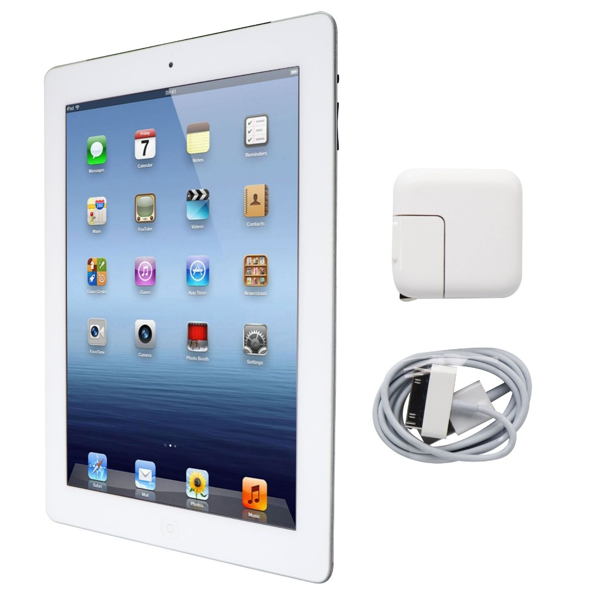 Apple iPad 9.7-inch (3rd Generation) Tablet A1430 (AT&T Locked) - 32GB / White