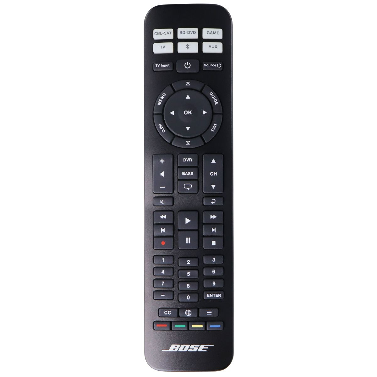 Bose OEM Replacement Remote Control for Bose System - Black (URC-15u)