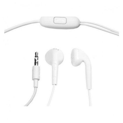 LG Handsfree Headest w/ Microphone - White - EAB62808401