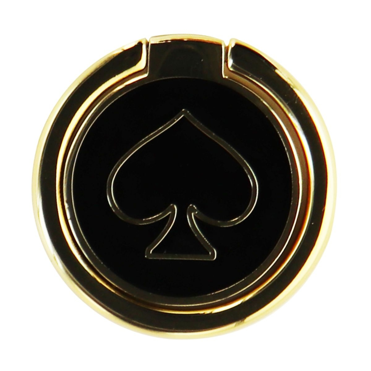 Kate Spade New York Attachable Stability Ring for Phones and Cases - Gold/Black