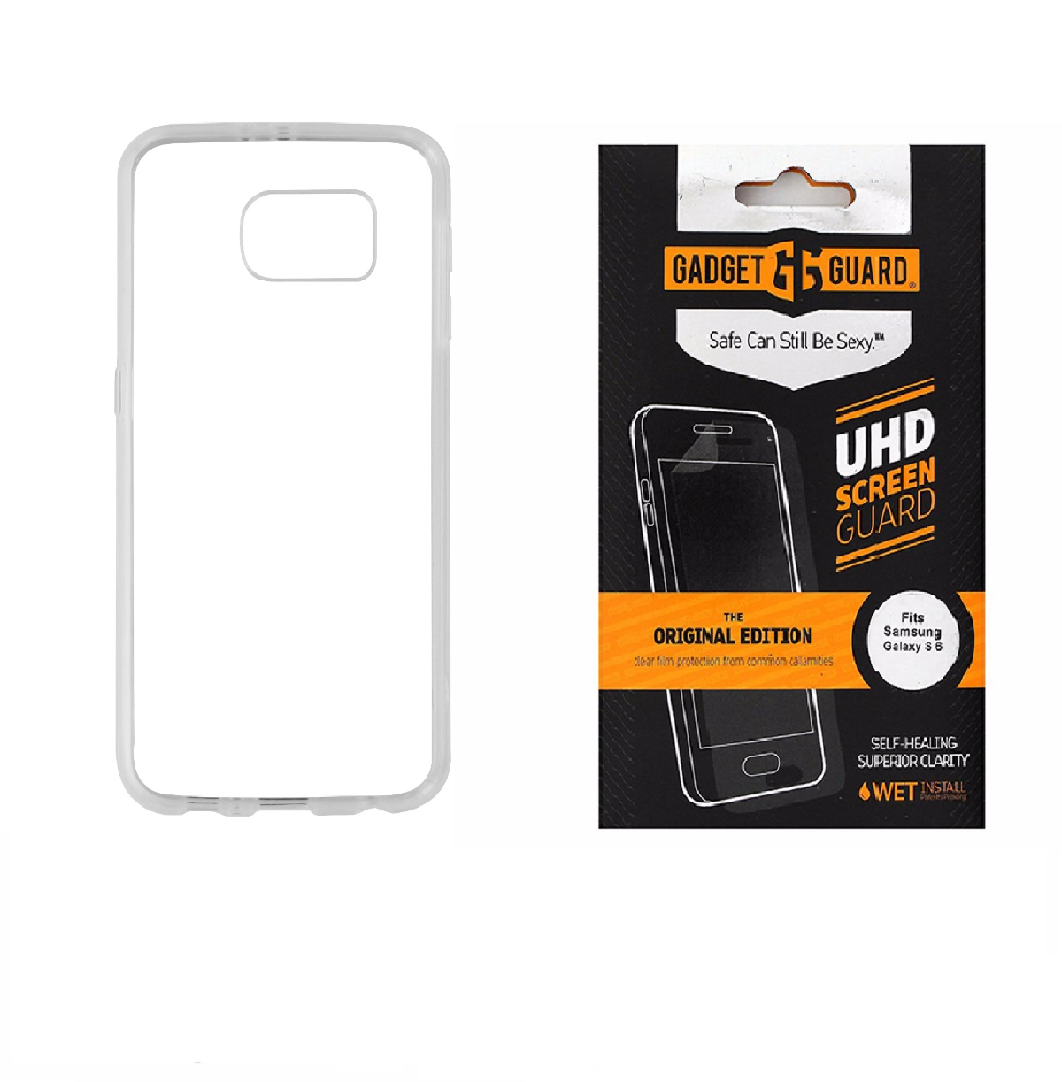 Insignia Clear Case & Gadget Guard Screen Protector for