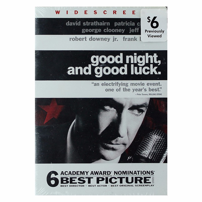 Warner Manufacturing Good Night and Good Luck DVD (Widescreen Edition)