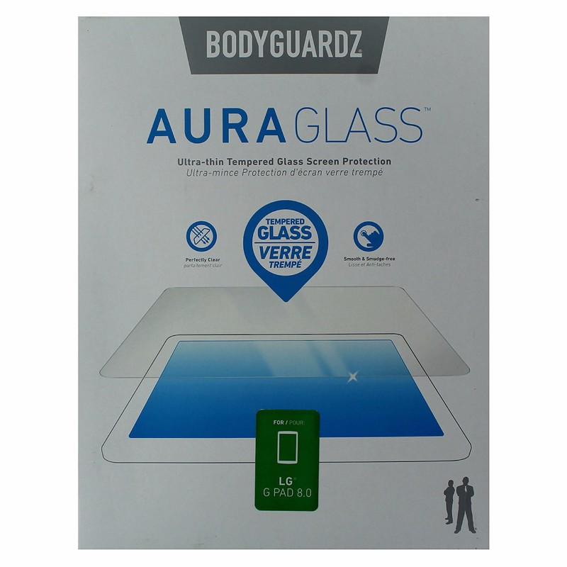 BodyGuardz Aura Glass Tempered Glass Screen Protector for LG G Pad 8.0