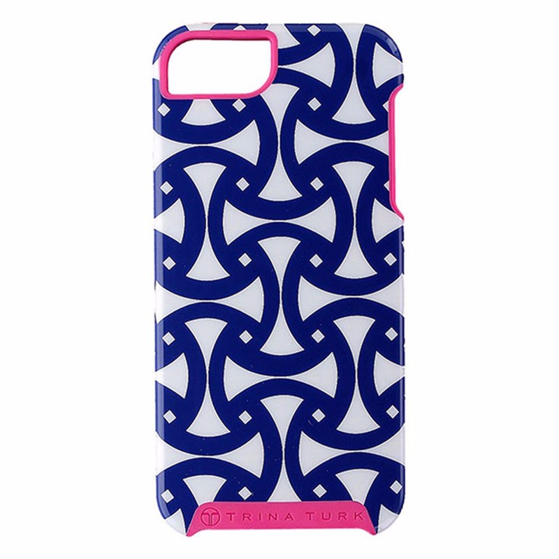 Trina Turk Dual Layer Case for iPhone 5/5s/SE - Santorini Navy