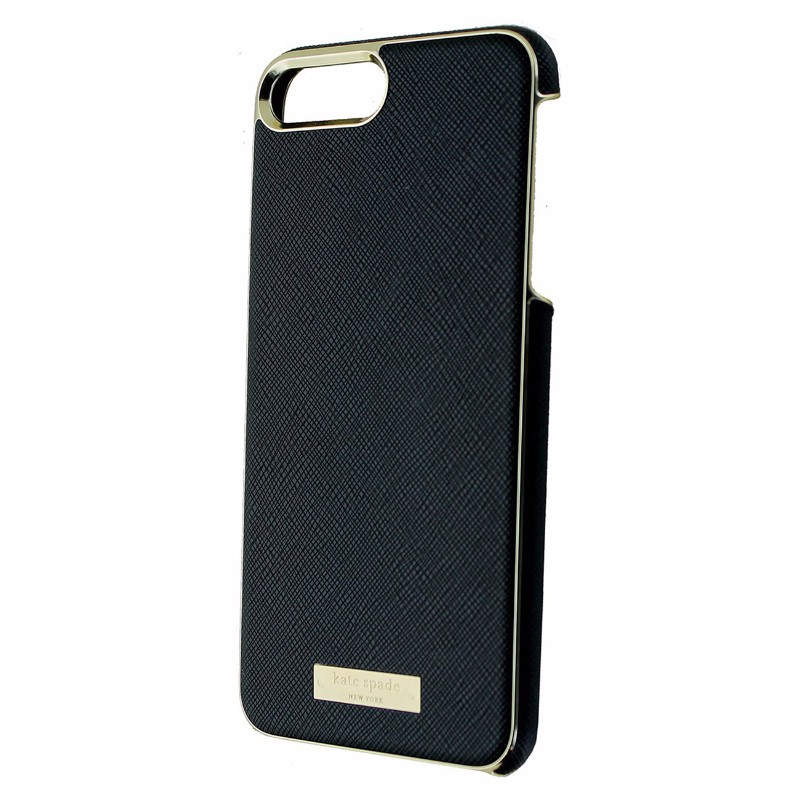 Kate Spade New York Wrap Case for iPhone 7 Plus - Saffiano Black