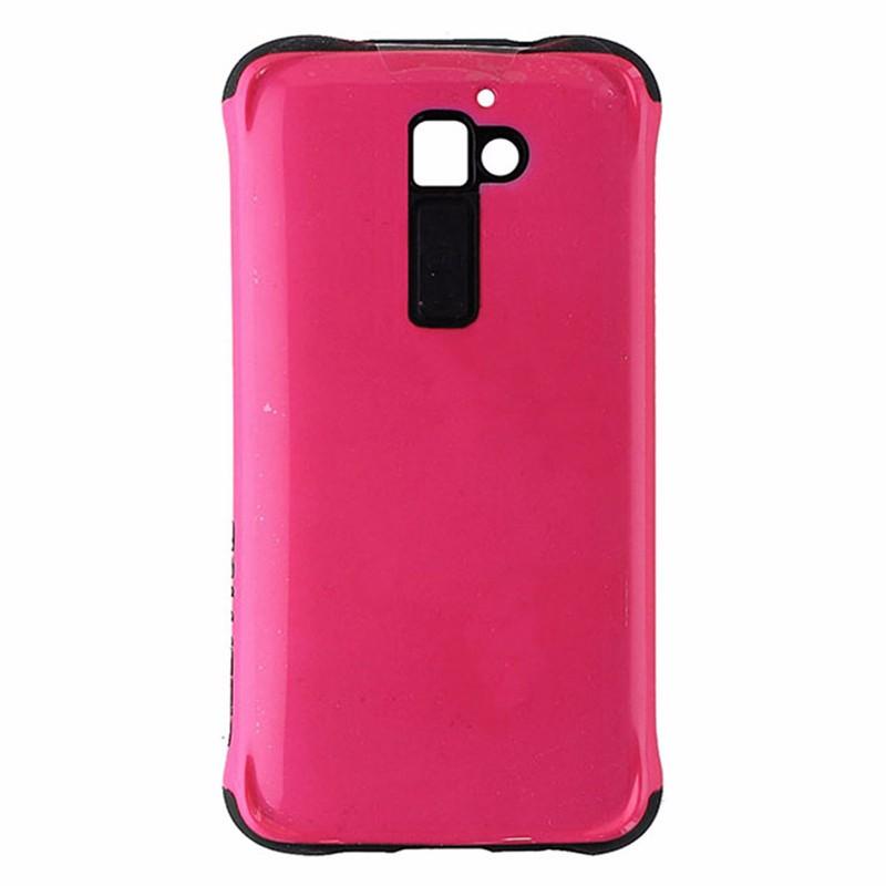 Ballistic Aspira Series Hardshell Case for LG G2 - Neon Hot Pink / Black