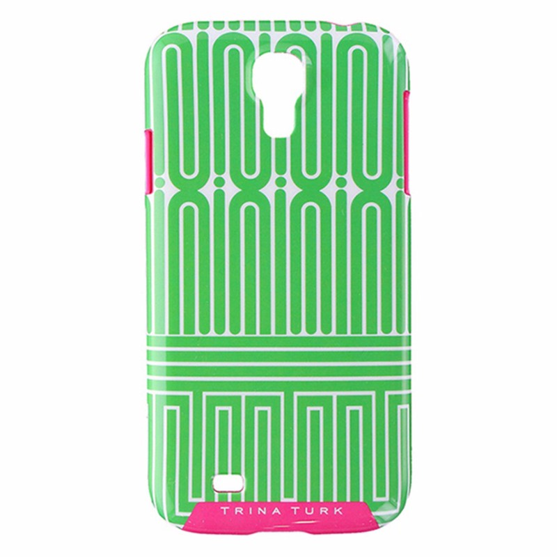 Trina Turk snap case for Samsung Galaxy S4 - Green/Pink