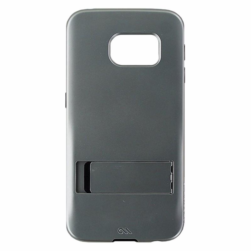 Case-Mate Tough Stand Case for Samsung Galaxy S6 Edge - Silver / Black