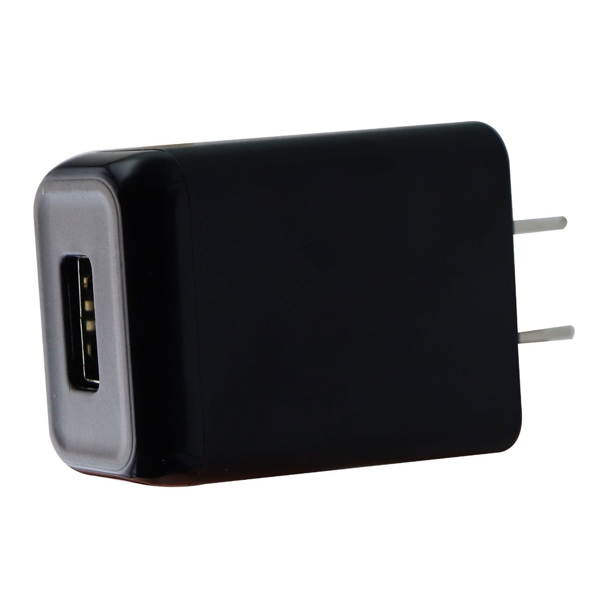 KEY 2.4A Wall Charger W/ USB Port - Black