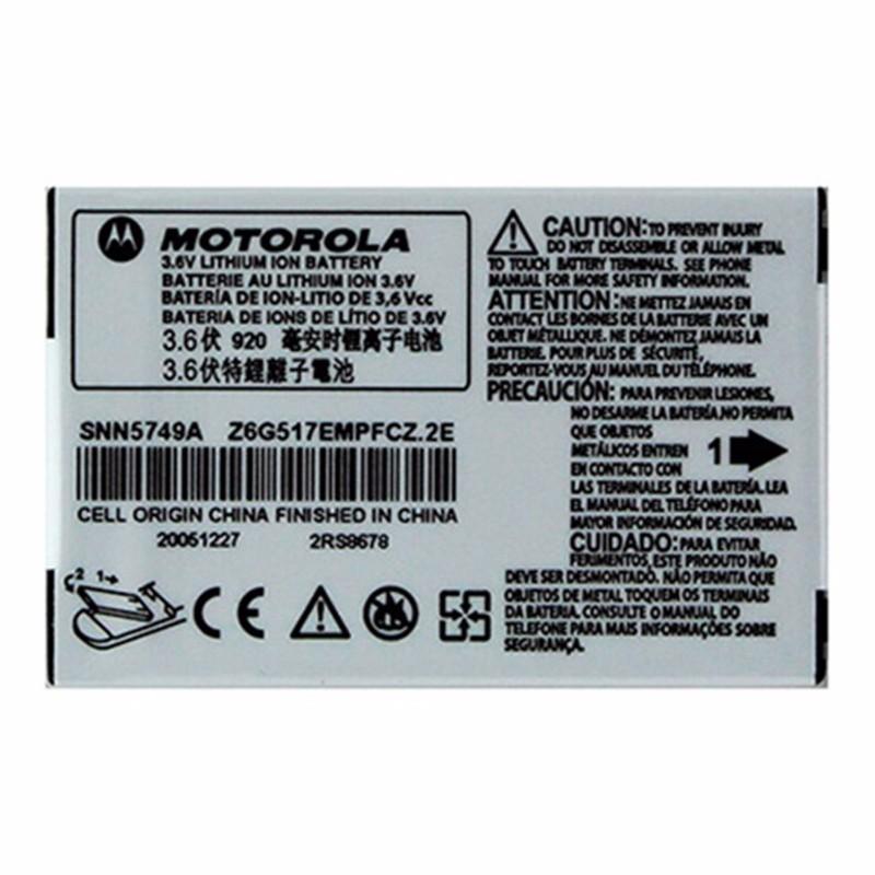 OEM Motorola SNN5749A 920 mAh Replacement Battery for Motorola V170/V171/C155