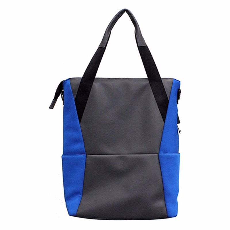 M-Edge Tech Tote Electronics Bag Fits Up to 15 inch Devices - Blue/Gray *INC