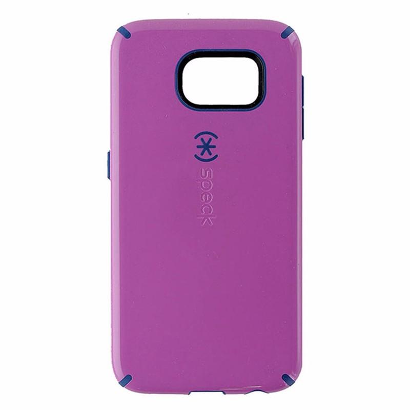 Speck CandyShell Series Hardshell Case for Samsung Galaxy S6 - Purple /Dark Blue
