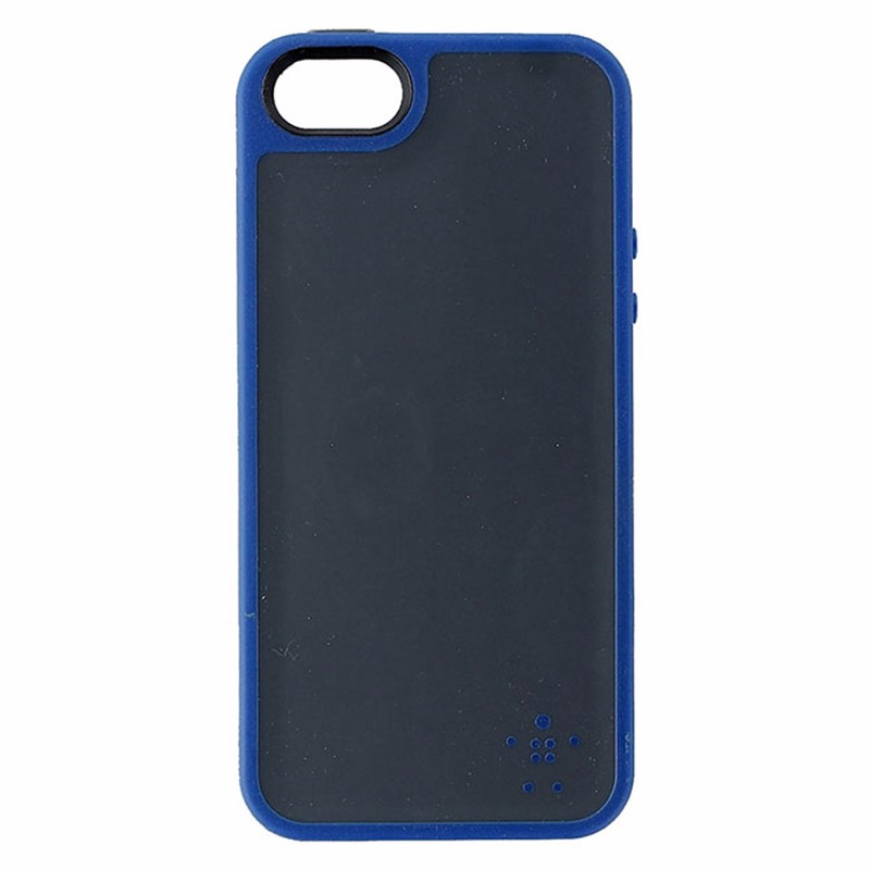 Belkin Grip Max Series Hybrid Case for iPhone 5/5s/SE - Gray / Blue