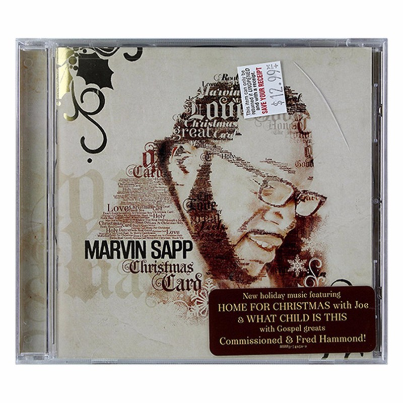 Marvin Sapp - Christmas Card 2013 Audio CD - 13 Tracks