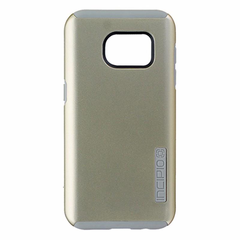 Incipio DualPro Series Dual Layer Case for Samsung Galaxy S7 - Gold / Light Gray