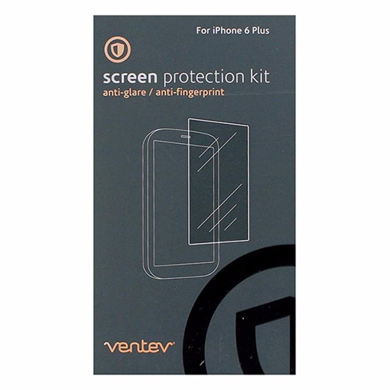 Ventev Screen Protector 2 Pack for iPhone 6 Plus/6s Plus - Clear AntiFingerprint
