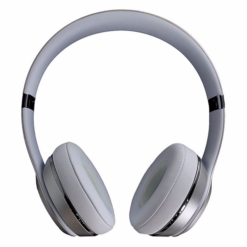 Beats Solo3 Wireless Series On-Ear Headphones - Silver (MNEQ2LL/A)