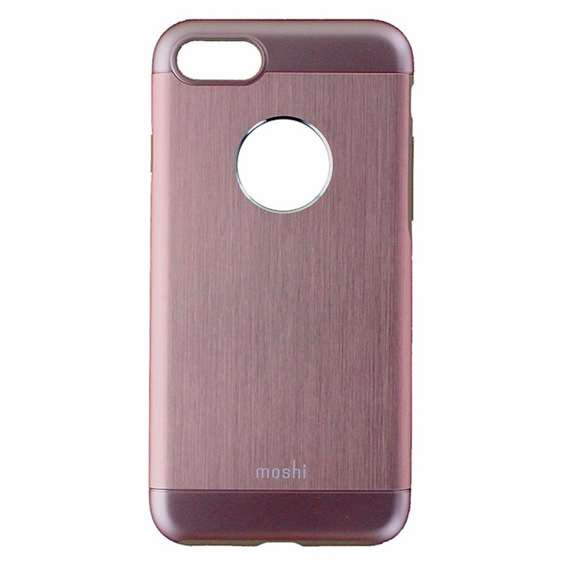 Moshi Armour Series Metallic Case for iPhone 7 - Pink / Rose Gold / Brown