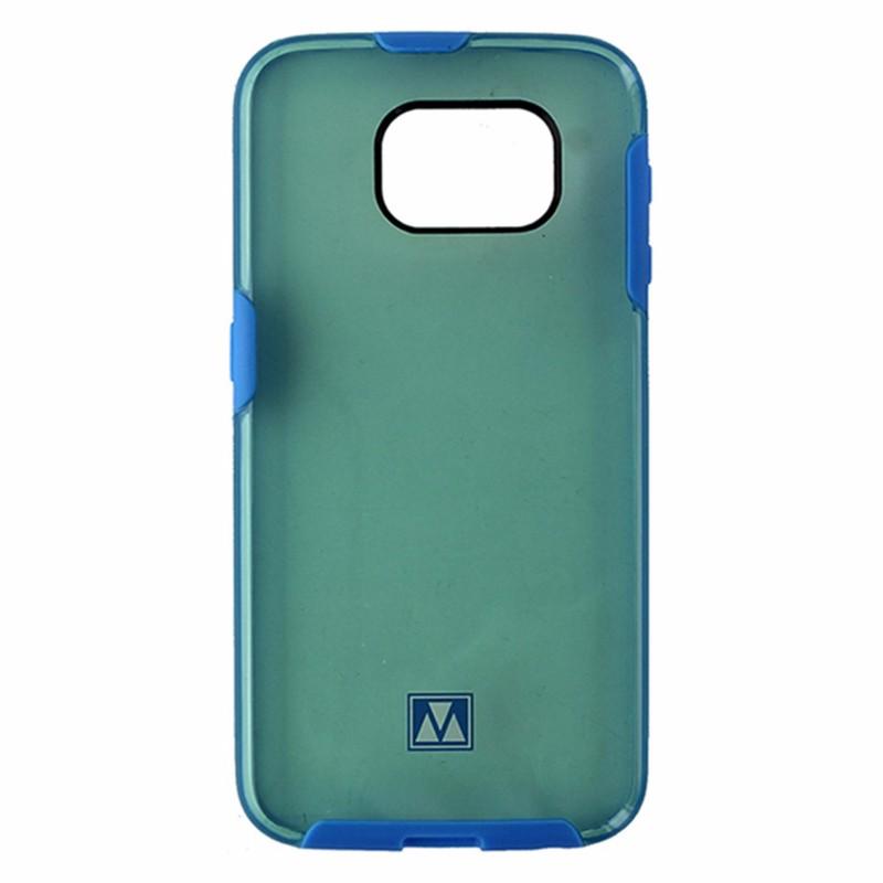 M-Edge Glimpse Hybrid Case for Samsung Galaxy S6 - Translucent Teal / Blue