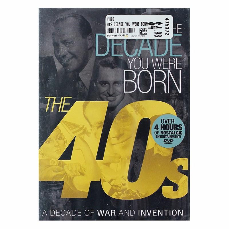 The Decade You Were Born - 1940s DVD