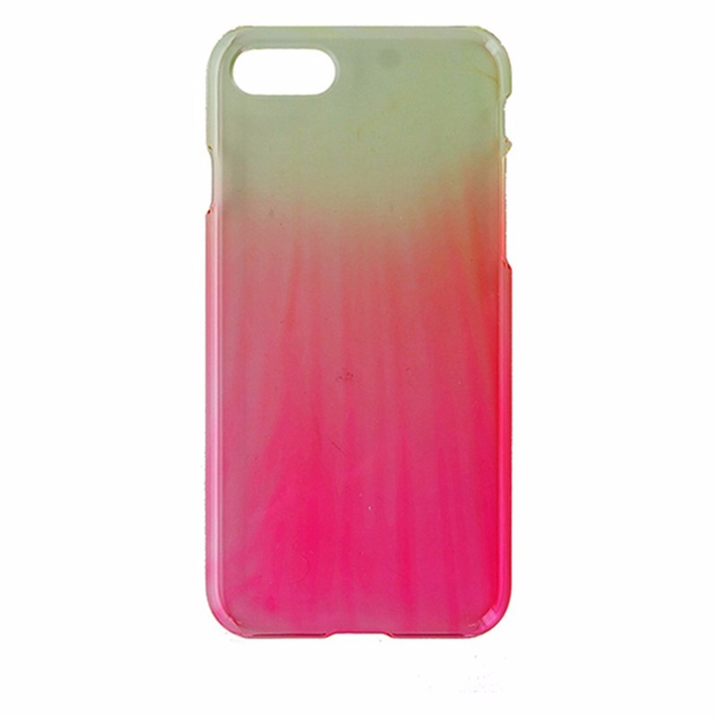 Uncommon Hardshell Protective Case Cover for Apple iPhone 8 / 7 - Pink / Yellow