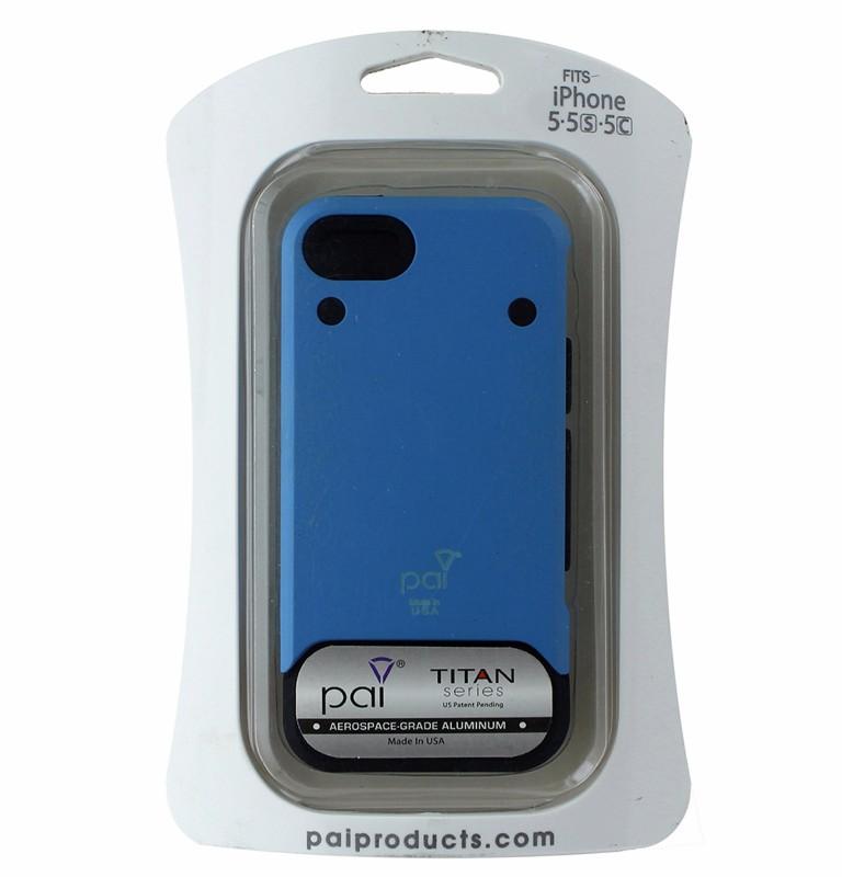 PAI Titan Series Rugged Aluminum Case for Apple iPhone 5/5C/5S - Blue